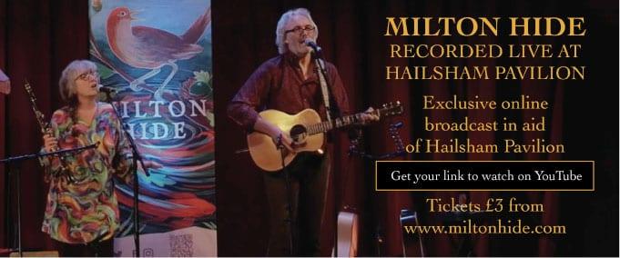 Milton Hide concert at Hailsham Pavilion